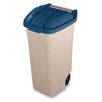 Rubbermaid roskakori 100 litraa beige