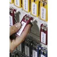 Durable Key Clip avaimenperä värilajitelma, 1 kpl=6 avaimenperää