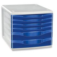 Vetolaatikosto 6-osainen sininen