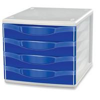 Vetolaatikosto 4-osainen sininen