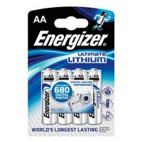 Energizer LITIUM AA/LR6 Paristo 4 kpl