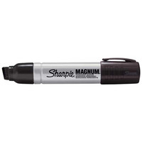 Sharpie Magnum huopakynä viisto 14,8mm permanent musta