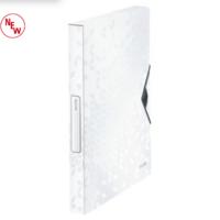 Laatikkokansio A4 PP valkoinen Leitz Wow