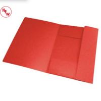 Punainen kulmalukkokansio