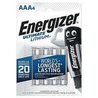 Energizer Ultimate AAA/LR3 litiumparisto, 1 kpl= 4 paristoa