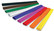 Kreppipaperi 50cm x 2,5m värilajitelma 10 arkkia