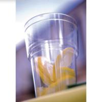 Kertakäyttöinen muovilasi 250ml, 1 kpl=50 lasia