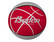 Koripalllo All Star koko 6 punainen/harmaa