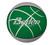 Koripallo All Star koko 5 vihreä/harmaa