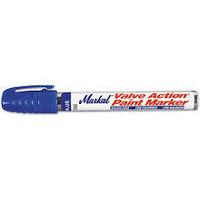 Markal Valve Action Paint Marker sininen,  12kpl laatikko