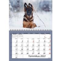 Hauvat seinäkalenteri A5 2022