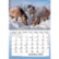 Hepat ja Ponit seinäkalenteri A5