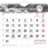 Luna seinäkalenteri 2022 200 x 180 mm