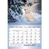 Eläinlapset seinäkalenteri 2022 290 x 420 mm