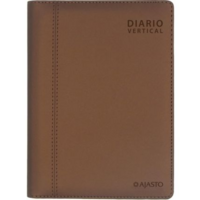 Diario Vertical pöytäkalenteri 2022 130 x 185 mm mokka