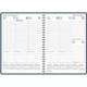 Wega pöytäkalenteri 2022 A5 tummansininen