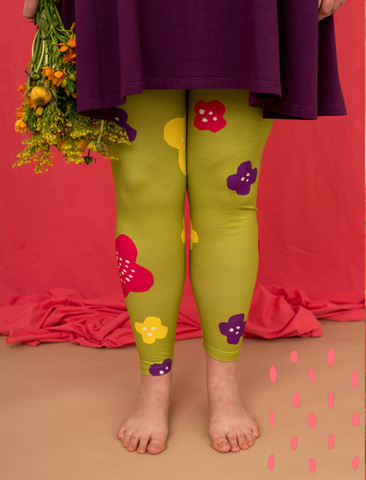 Aamu-leggings pear green