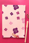Matara-notebook A5 light pink