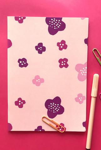 Matara-notebook A5 light pink
