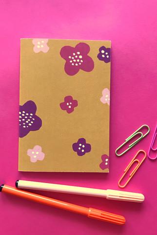 Matara-notebook A6 mustard