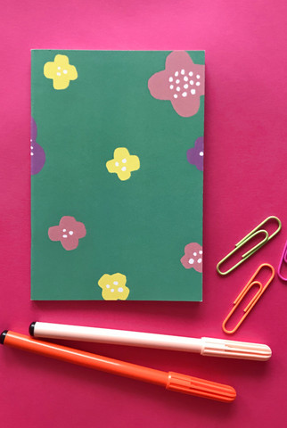 Matara-notebook A6 turquoise
