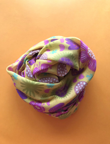 Ilo-scarf yellow