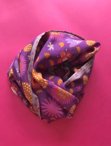 Ilo-huivi violetti