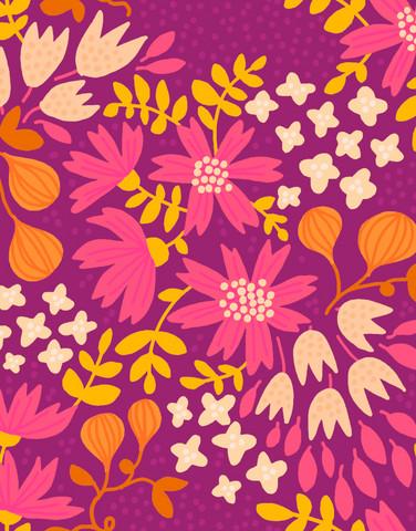Kreeta-tencel jersey plum