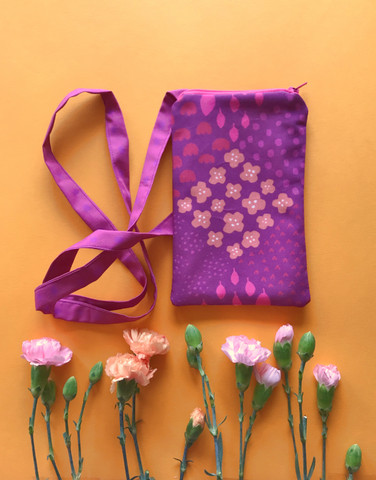 Smartphone pouch heather