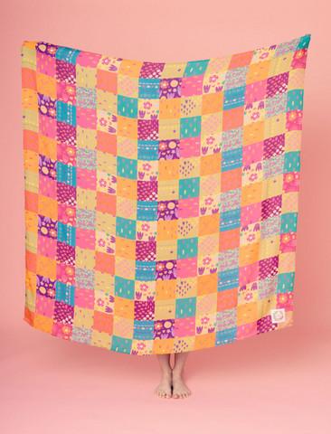 Tilkku-scarf multicolor