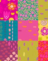 Tilkkutäkki-cotton jersey multicolor