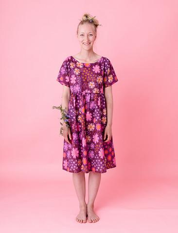 Sesilia-dress purple