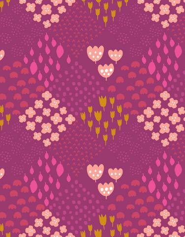 0,3 m piece Palsta-viscose fabric heather