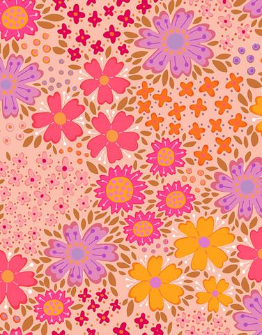 1,5 m piece Floora-cotton jersey light pink