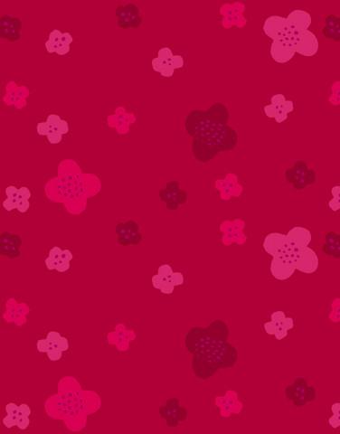 0,35 m Piece Mini Matara-cotton jersey lingonberry