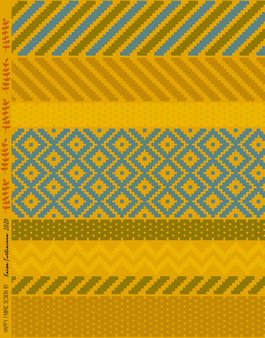 Biitsi-cotton jersey gold