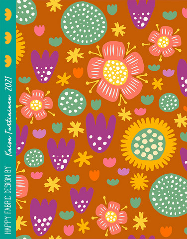 Ilo-cotton jersey toffee