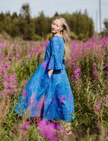 Auroora-mekko sininen