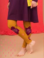 Aamu-leggings mustard yellow