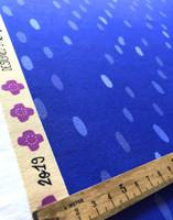 Pilkkumi-cotton jersey blue