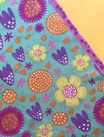 Ilo-scarf turquoise