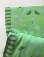 Humppa-scarf-fabric light green