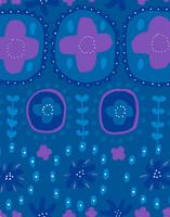 Auroora-puuvillatrikoo sininen