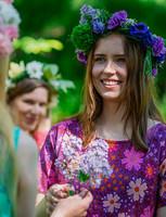 Sesilia-mekko violetti