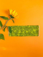Fabric mask - green peas