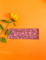 Fabric mask - lilac peas