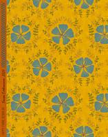 Neilikka-cotton sateen gold
