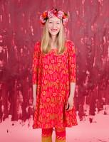 Amalia-dress cherry