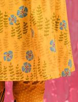Amalia-dress golden