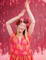 Paratiisi-dress cherry